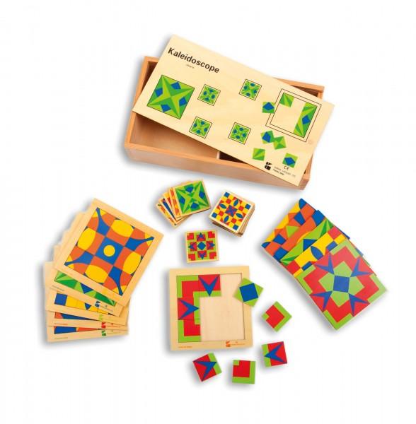 Legespiel-aus-Holz-Kaleidoskop