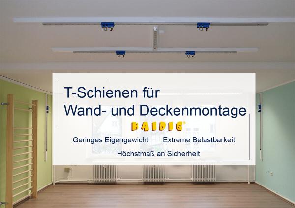 Tschienen-Wandmontage-deckenmontage