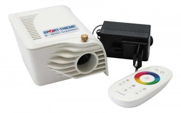 Faseroptik-Projektor mit Fernbedienung